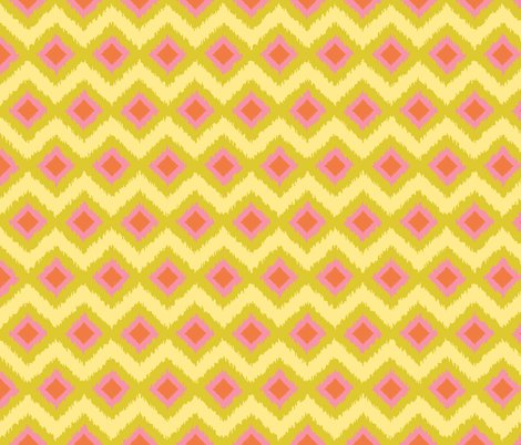 Rspring_friends_yellow_pink_orange_ikat_shop_preview