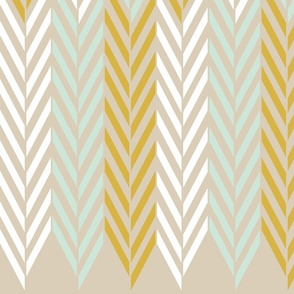 Wheat Field Herringbone (Tall)