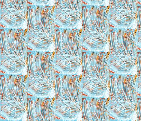 Blue Reef fabric by menny on Spoonflower - custom fabric