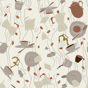 Il Gusto del caffè - Macchiato caldo al vetro - 03
