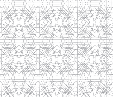 Grey Mirror Abstract fabric by modfox on Spoonflower - custom fabric
