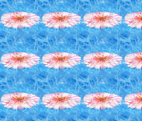 4x4_inch_pink_daisy fabric by nerdlypainter on Spoonflower - custom fabric