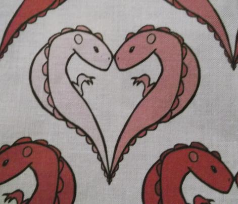 Pink Dinosaur Valentines