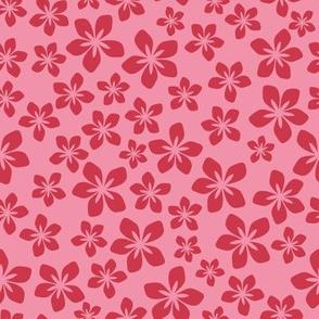 Floral Pink Hawaïan/Quilt 1