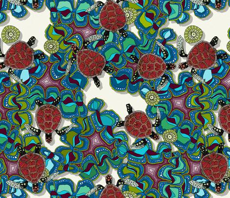 turtle reef fabric by scrummy on Spoonflower - custom fabric