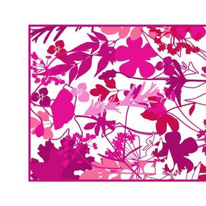 Pink Shades  Tea Towel