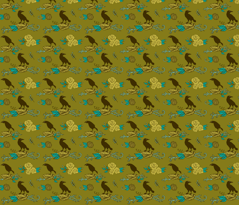 nesting fabric by skellychic on Spoonflower - custom fabric