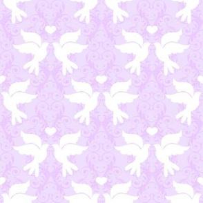 Lovey Dovey in Lavender