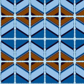 Tribal Blue/#SFDesignADay - 6