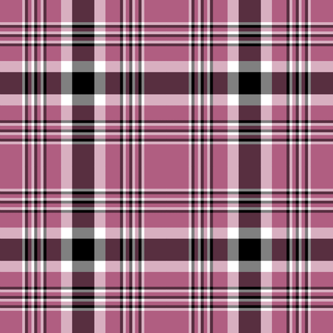 Orchid Tartan fabric by scarymann on Spoonflower - custom fabric
