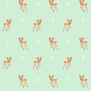 Bambi Fawn Regency Green