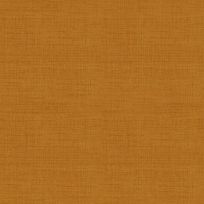 Linen Look, Rust Orange