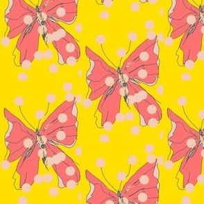 Butterfly Formation/Yellow