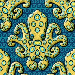 Blue-Ringed Octopus - Royal Blue