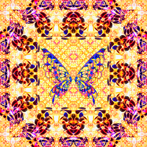 108__Multibright_Butterflies_pt1 fabric by phosfene on Spoonflower - custom fabric