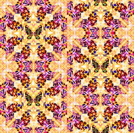 100__Multibright_Butterflies_pt1 fabric by phosfene on Spoonflower - custom fabric