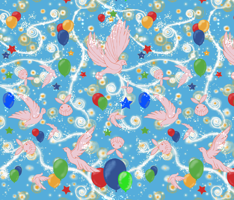 Look inside the hat fabric by kirpa on Spoonflower - custom fabric