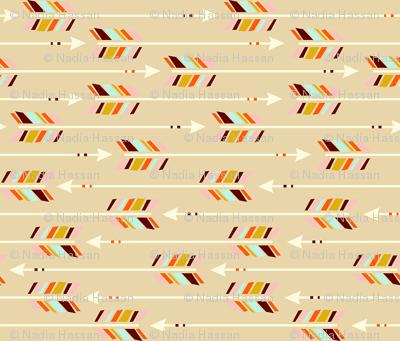 Small Arrows: Horizontal Sand