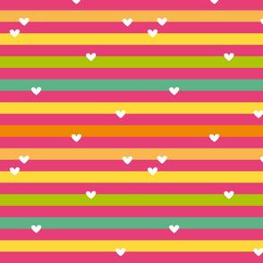 Fruit Cocktail Stripes