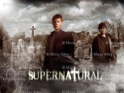 Supernatural graveyard