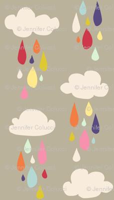 April Showers: Rain Clouds