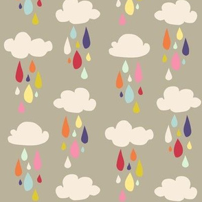 April Showers: Rain Clouds