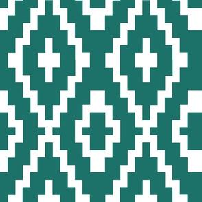 tribal teal