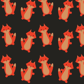 fox_on_black