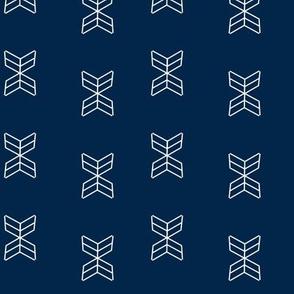 arrowheads-Navy