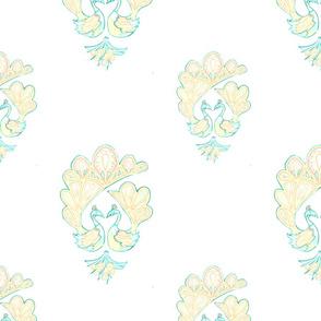 Pale Peacocks