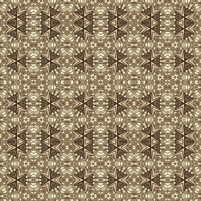 Black lilies motif