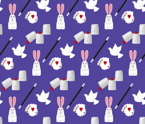 magic show fabric by victorialasher on Spoonflower - custom fabric