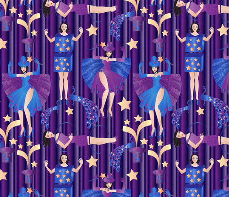 magic! fabric by kociara on Spoonflower - custom fabric