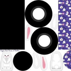 magic hat purse, and rabbit