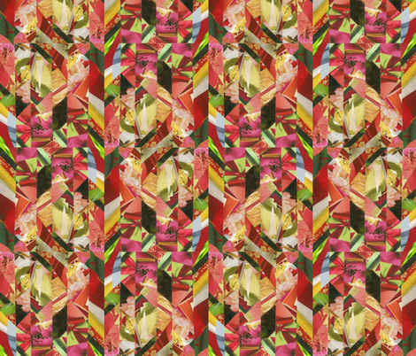 warm_scrap_collage_for_SF fabric by thatswho on Spoonflower - custom fabric