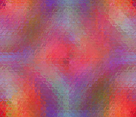 Circular Rainbows Diffused fabric by anniedeb on Spoonflower - custom fabric