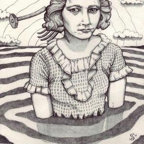 Women-in-Water-Evie-with-Pitchforks-and-Hammers-Savannah-Schroll-Guz1