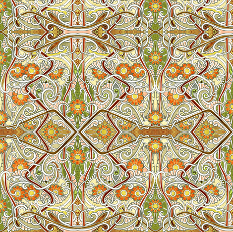 Next Stop, 1914 fabric by edsel2084 on Spoonflower - custom fabric