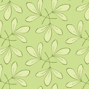 Green Leaves Repeat