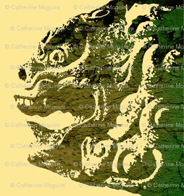 lion dog camo