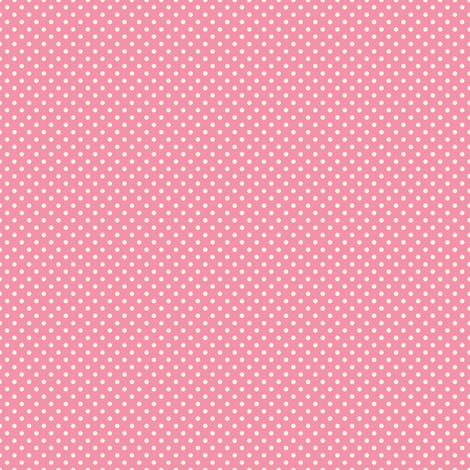 Floral Pink Tiny Polkadot /Quilt1 fabric by juliesfabrics on Spoonflower - custom fabric