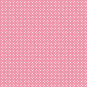 Floral Pink Tiny Polkadot /Quilt1
