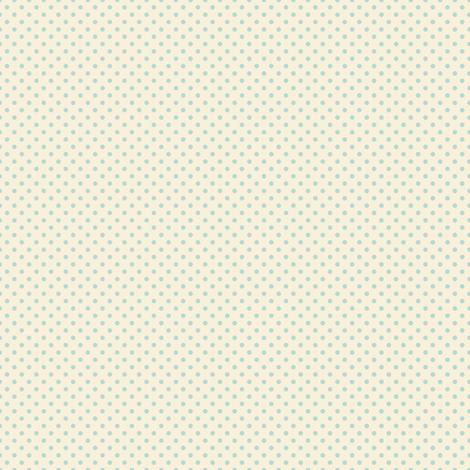 Floral Blue Tiny Polkadot /Quilt1 fabric by juliesfabrics on Spoonflower - custom fabric