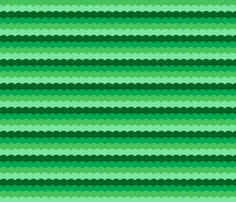 Shades of green fabric by chez_fraisichou on Spoonflower - custom fabric