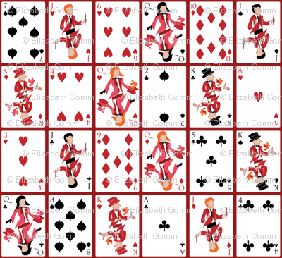 A magic deck of cards