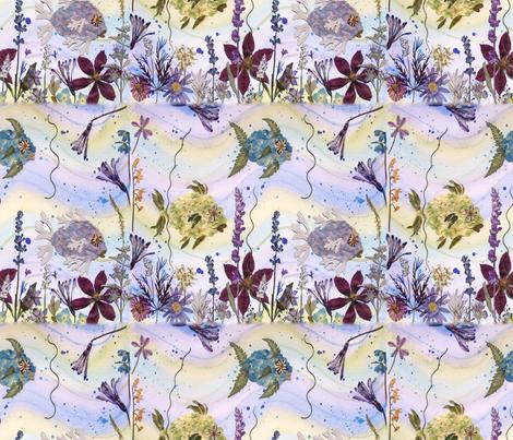 Fun Fish Under the Sea fabric by mypetalpress on Spoonflower - custom fabric