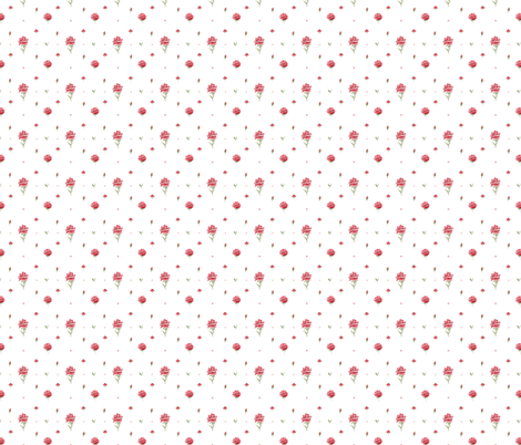 Rosette fabric by louandmoss on Spoonflower - custom fabric