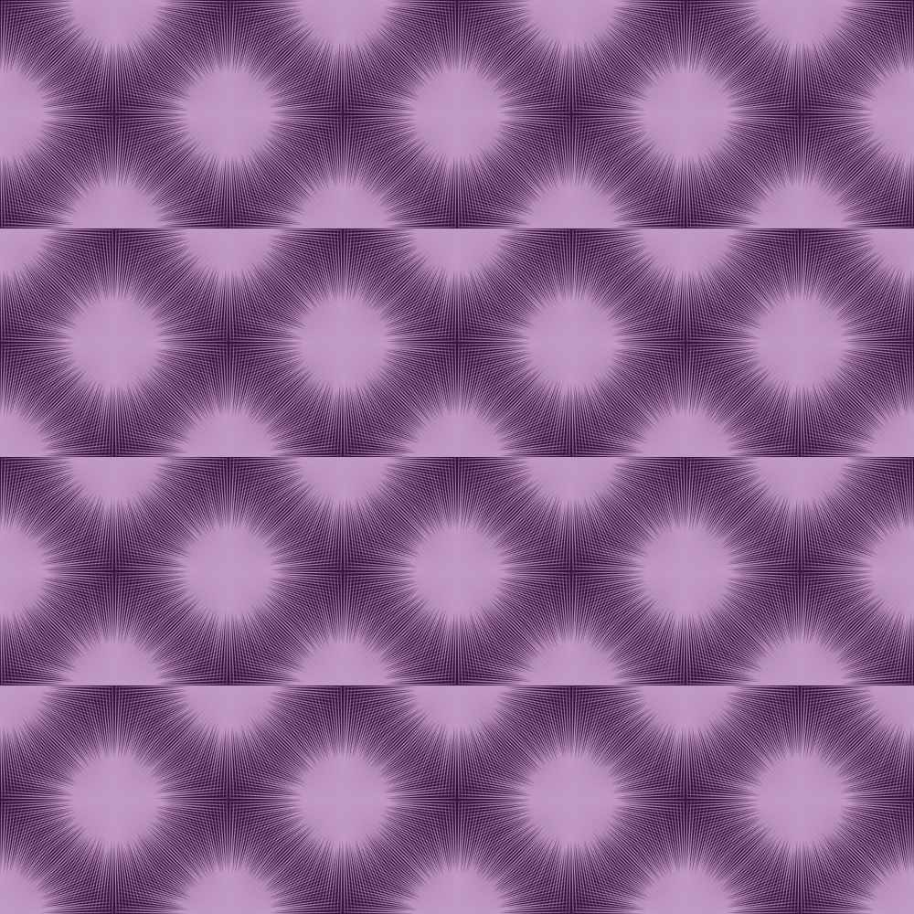 purple starburst fabric modernfox spoonflower