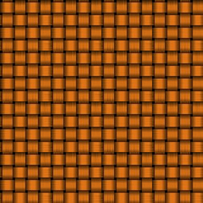 Orange basketweave