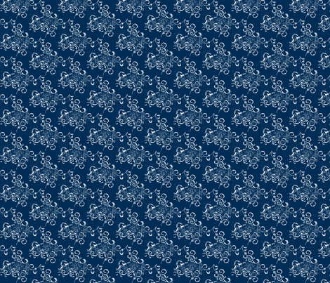 Midnight Scroll fabric by red_gate_designs on Spoonflower - custom fabric